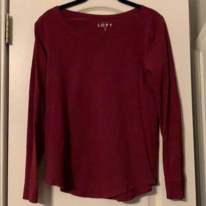 LOFT XS long sleeve t-shirt(s)